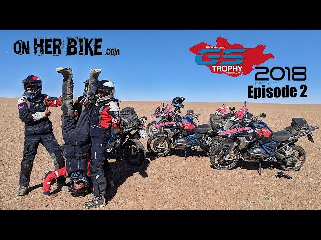 On Her Bike at the GS Trophy in Mongolia - Episode 2