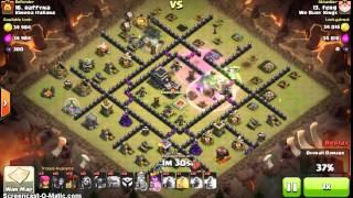 GoLoWiPe   3 Star War Attack   TH9   Clash of Clans