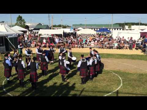 Gr 3 Scotia-Glenville Pipe Band ~ winners at the 2016 Capital District Games