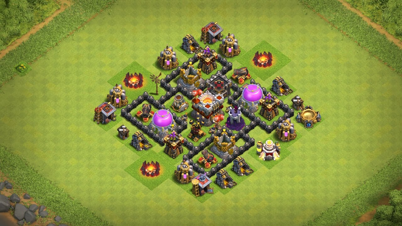 Best Base Th5 Coc 7