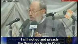 Qaradhawi on the spread of shia islam