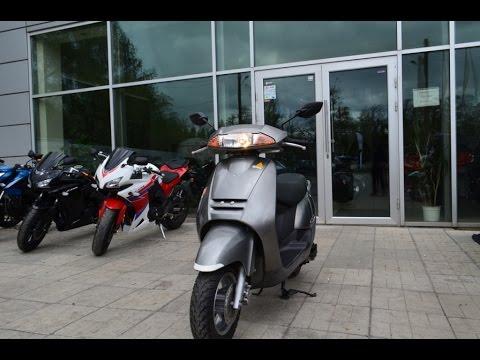 Honda Zoomer из Японии в АртМото - YouTube