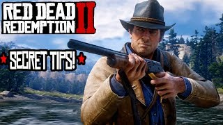 SECRET TIPS YOU NEED TO KNOW IN RED DEAD REDEMPTION 2! RDR2 Tips and Tricks