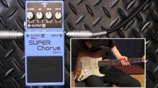 【試奏動画】BOSS CH-1 SUPER Chorus 【BOSS COMPACT PEDAL 100th ANNIVERSARY!!】