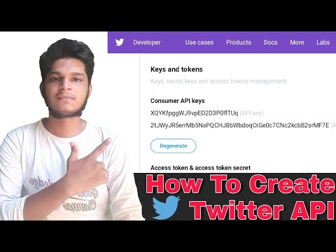 How To Generate Twitter API Key | Twitter API Key Kaise Generate Karen | Good Knowledge Channel