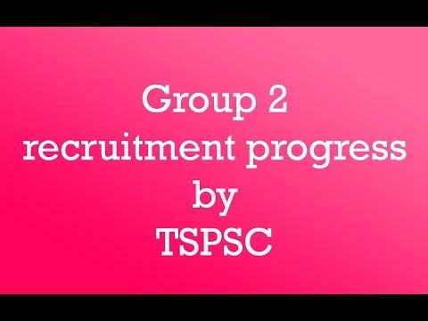 Group 2 recruitment progress from Tspsc    order from high Court