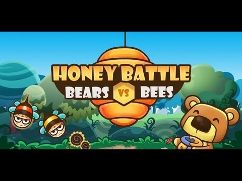 Android Honey Battle - Bears vs Bees