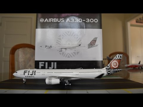 Eagle 1:200 Fiji Airways A330-300 Unboxing and Review