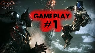 Batman Arkham Knight - Part 1 - ACTION GAME MOVIE // GamePlay // Walkthrough