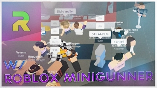 Exploiting at Sizzleburgers w/ Roblox Minigunner! I ROBLOX Exploiting #41