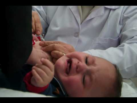 WHO vaccination week 2010 in Nablus, occupied Palestinian territory