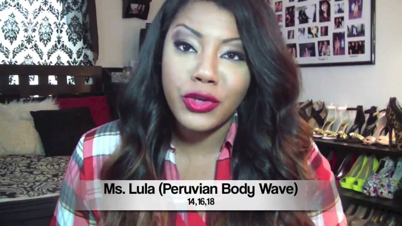 Ms lula hair review peruvian body wave hair extensions youtube pmusecretfo Image collections