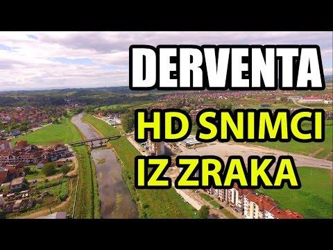 Derventa | HD snimci iz zraka (vazduha) | Video #8
