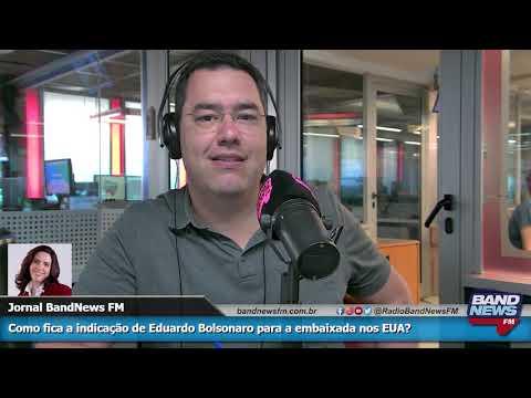 Mônica Bergamo: Como fica a indicação de Eduardo Bolsonaro para a embaixada dos EUA?