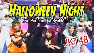JKT48 Halloween Night Live Perform DahSyat Musik