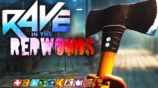 """INFINITE WARFARE ZOMBIES DLC 1 """"RAVE IN THE REDWOODS"""" GAMEPLAY TRAILER! – INFINITE WARFARE ZOMBIES!"""