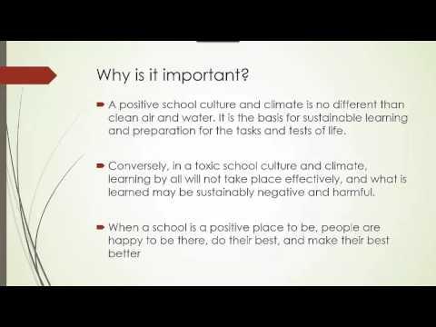 Culture Vs Climate
