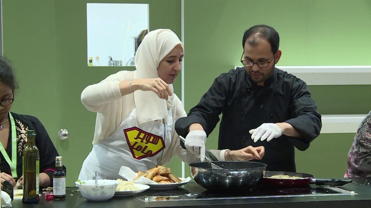الطهي مع الأطفال الشيف حسناء - Cooking with Children , Chef Hasnaa