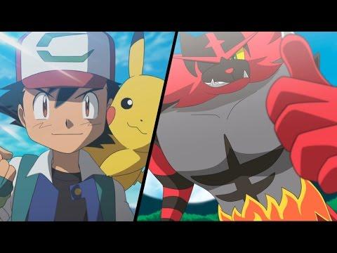 Litten and Stoutland  Ash and Pikachu「AMV」 Be Somebody  Pokemon