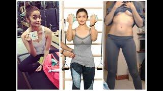New Alia Bhatt Hot Workout Video 2017