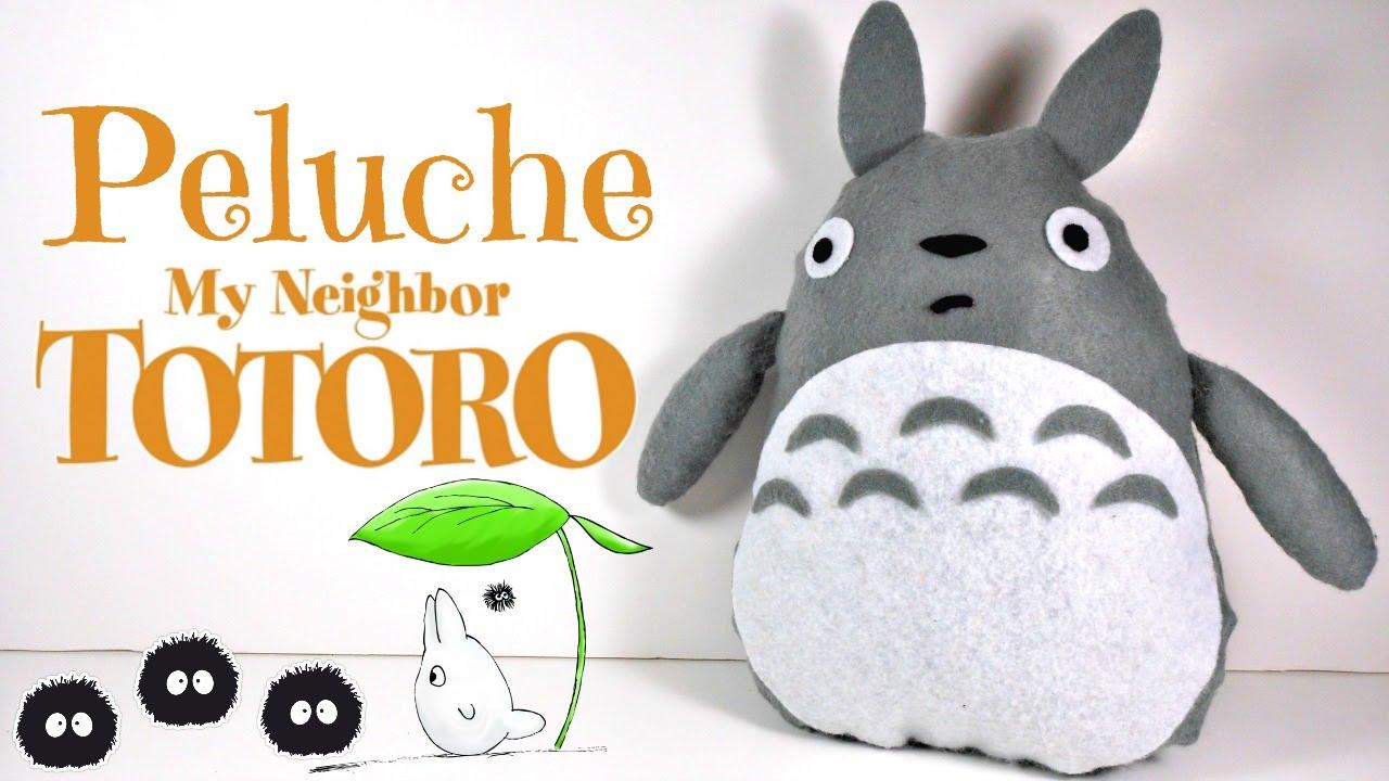 TUTORIAL: Cómo hacer un peluche de Totoro con fieltro (Fácil ...