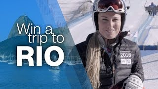 Join Lindsey Vonn, Get Active and Win a Trip to Rio | Olympic Day 2015