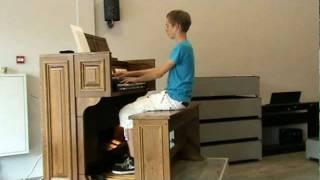 Conquest of Paradise - orgelimprovisatie - Gert van Hoef