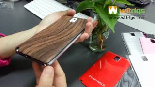This video is not available. Custom Wooden Pattern Sumsung Galaxy Note 3 Battery Case Replacement