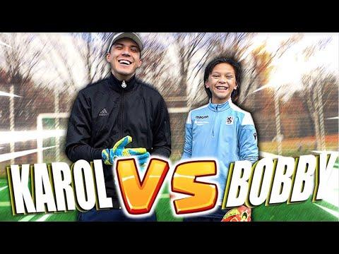 12Y GK Bobby - Karol Vs Bobby Follower Challenge