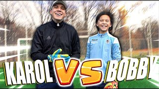 12Y GK Bobby - Karol vs Bobby Follower Challenge