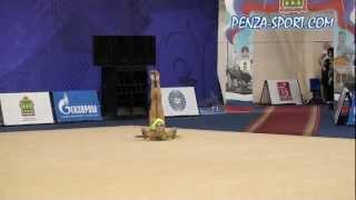 FIG RG World Cup, Russia -- Penza(Дарья Кондакова завоевала «золото» в первый день этапа Кубка мира. Фото и видео Дарья Кондакова завоевала..., 2012-04-28T18:32:04.000Z)