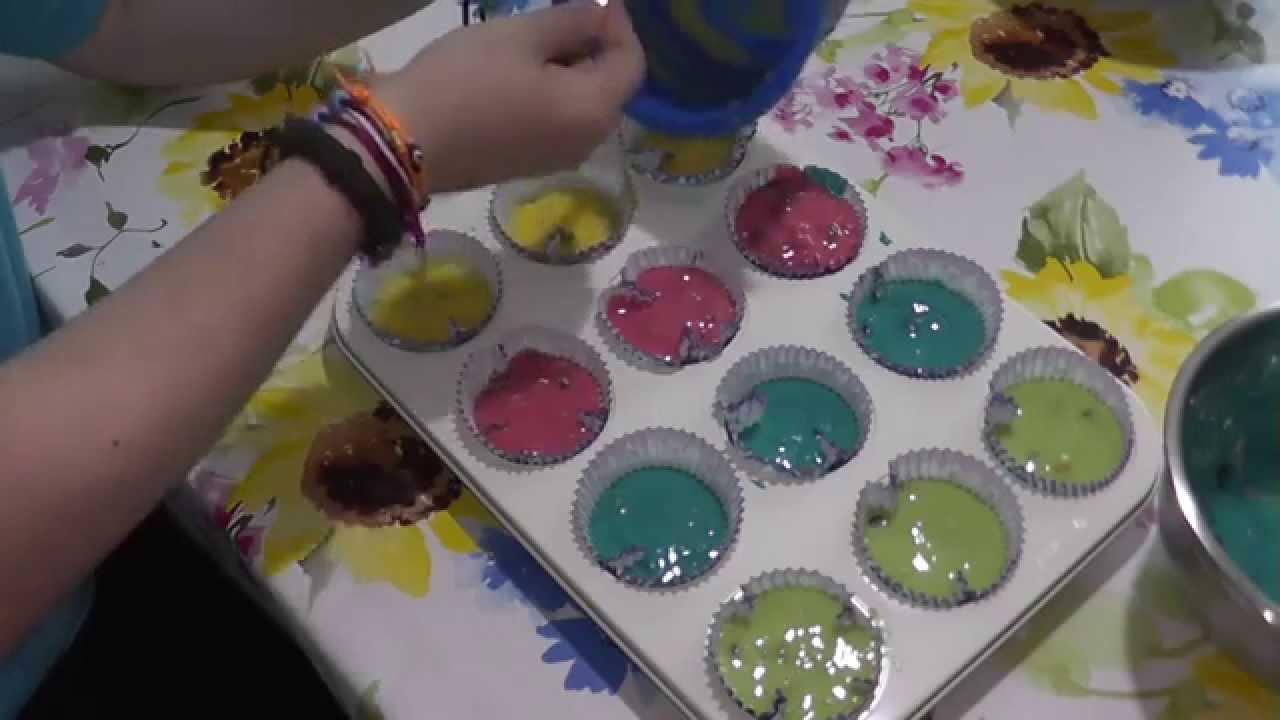 Bunte Muffins Youtube