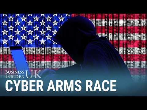 An internet security expert says a cyber arms race has just begun