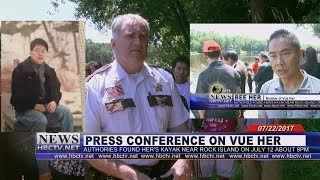 3 HMONG NEWS: Press conference on Vue Her who has been missing since July 12.
