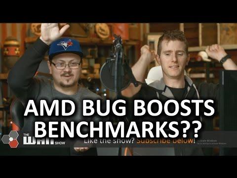 AMD SLEEP BUG BOOSTS BENCHMARKS?? - WAN Show March 10, 2017