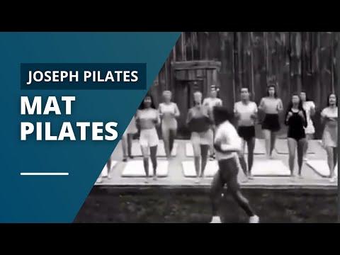Joseph Pilates Mat Pilates