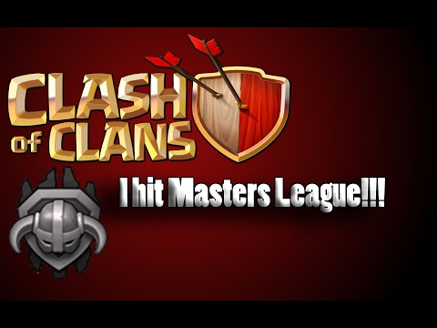 Clash of Clans | I REACHED MASTERS LEAGUE