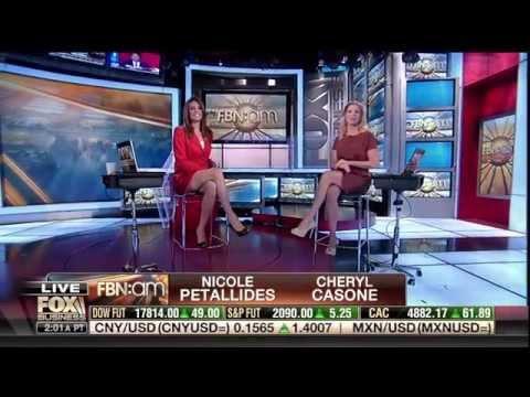 Nicole Petallides & Cheryl Casone 11-25-15
