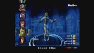 TimeSplitters Future Perfect: All the Characters with animations