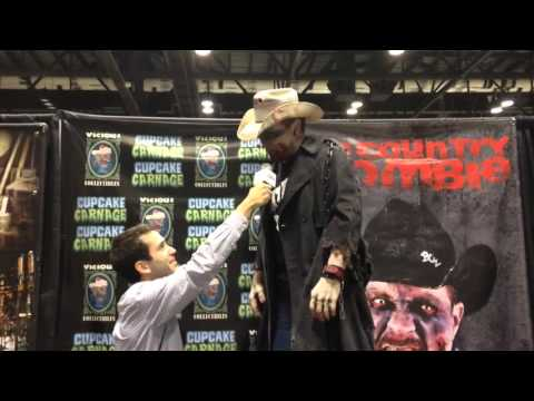 Mark Moses Show: Big Country Zombie interview