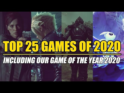 Top 25 BEST Games of 2020 - Including our Game of The Year 2020