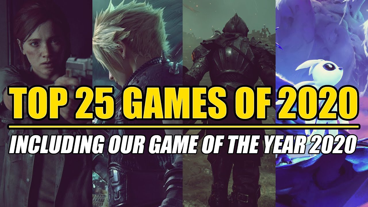 Download Top 25 BEST Games of 2020 - Including our Game of The Year 2020