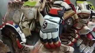 Cricket batting gloves reparing