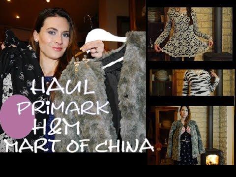 Haul: compras ropa invierno 2014 (primark,...