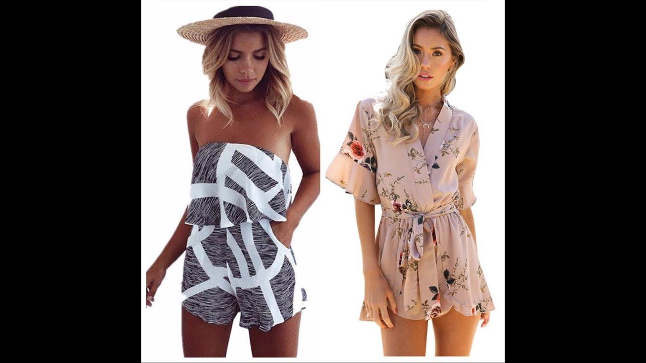 Покупка Одежды с AliExpress - Модный женский комбинезон - YouTube