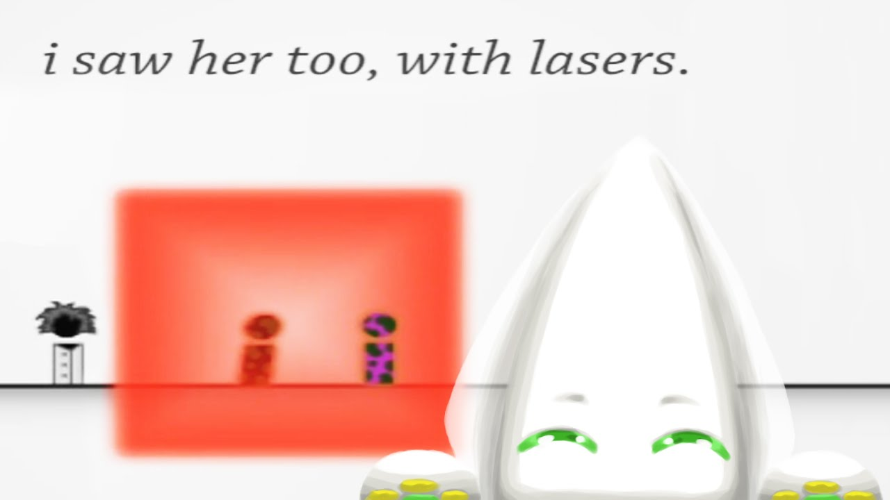I Saw Her, Too, With Lasers | Addicting Games