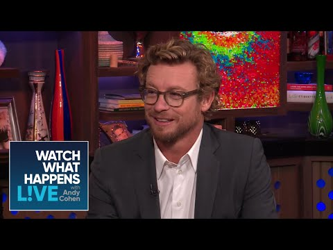 Simon Baker Is A Bethenny Frankel Fan | RHOBH | WWHL