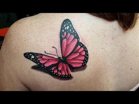 Los Tatuajes De Mariposas Youtube