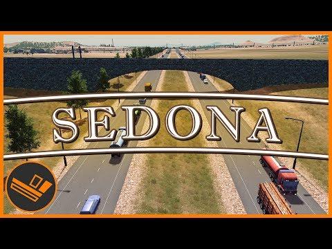Sedona - Part 11 | RAIL EXPANSION (Cities: Skylines)