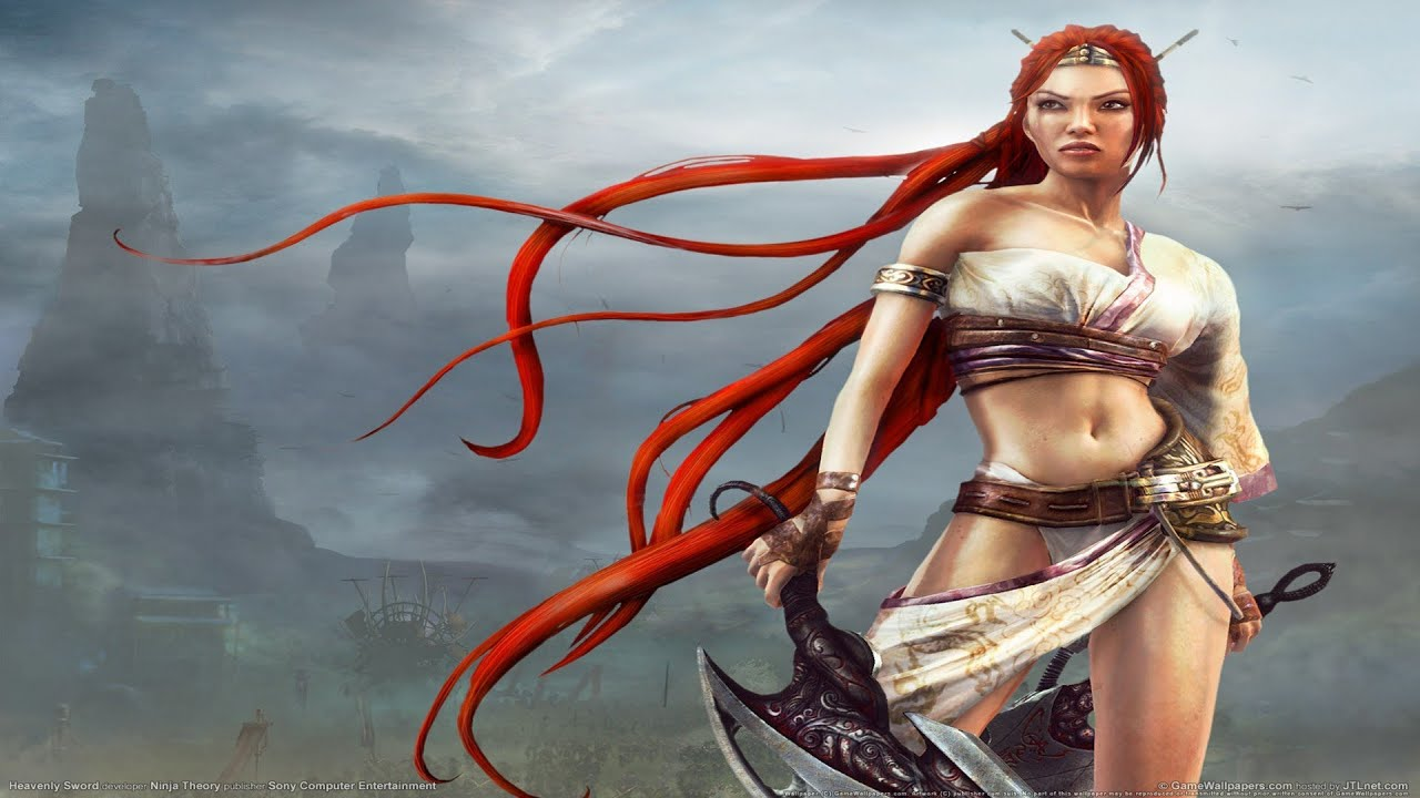 Heavenly Sword Walkthrough Gameplay Youtube